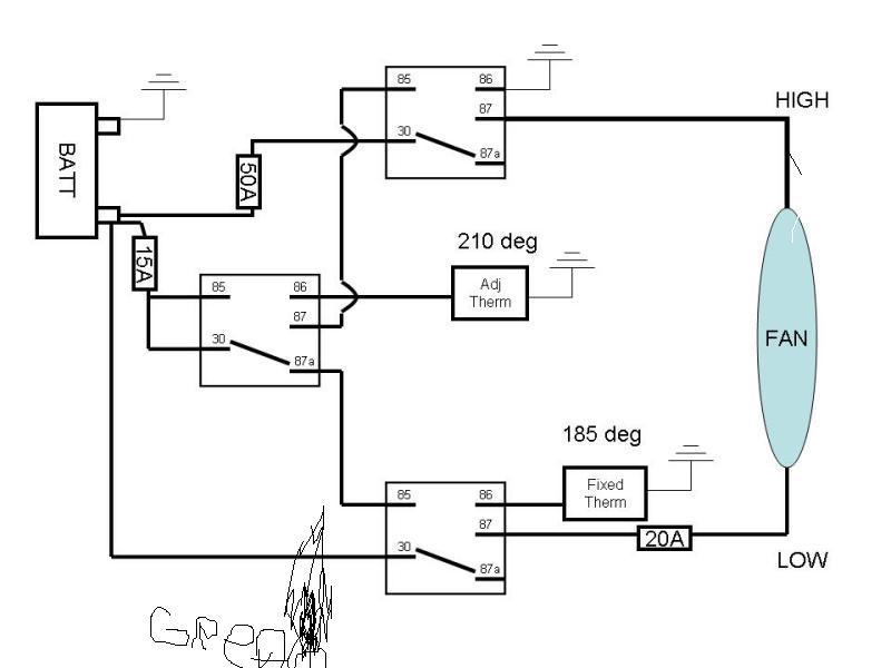 Electric Fan  U0026 Temp Sending Unit Control
