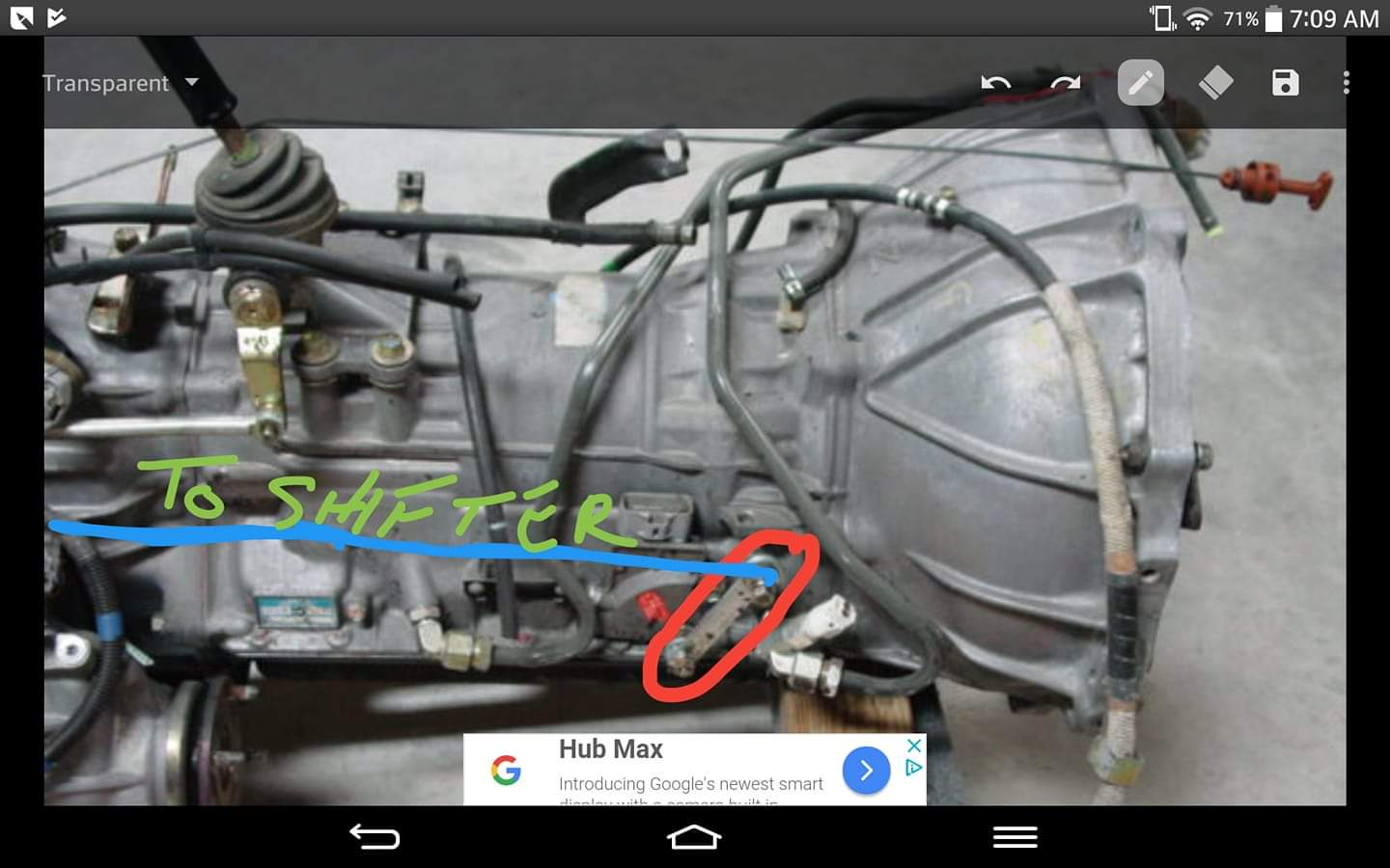 Toyota 88716-6A421 Cooler Refrigerant Pipe