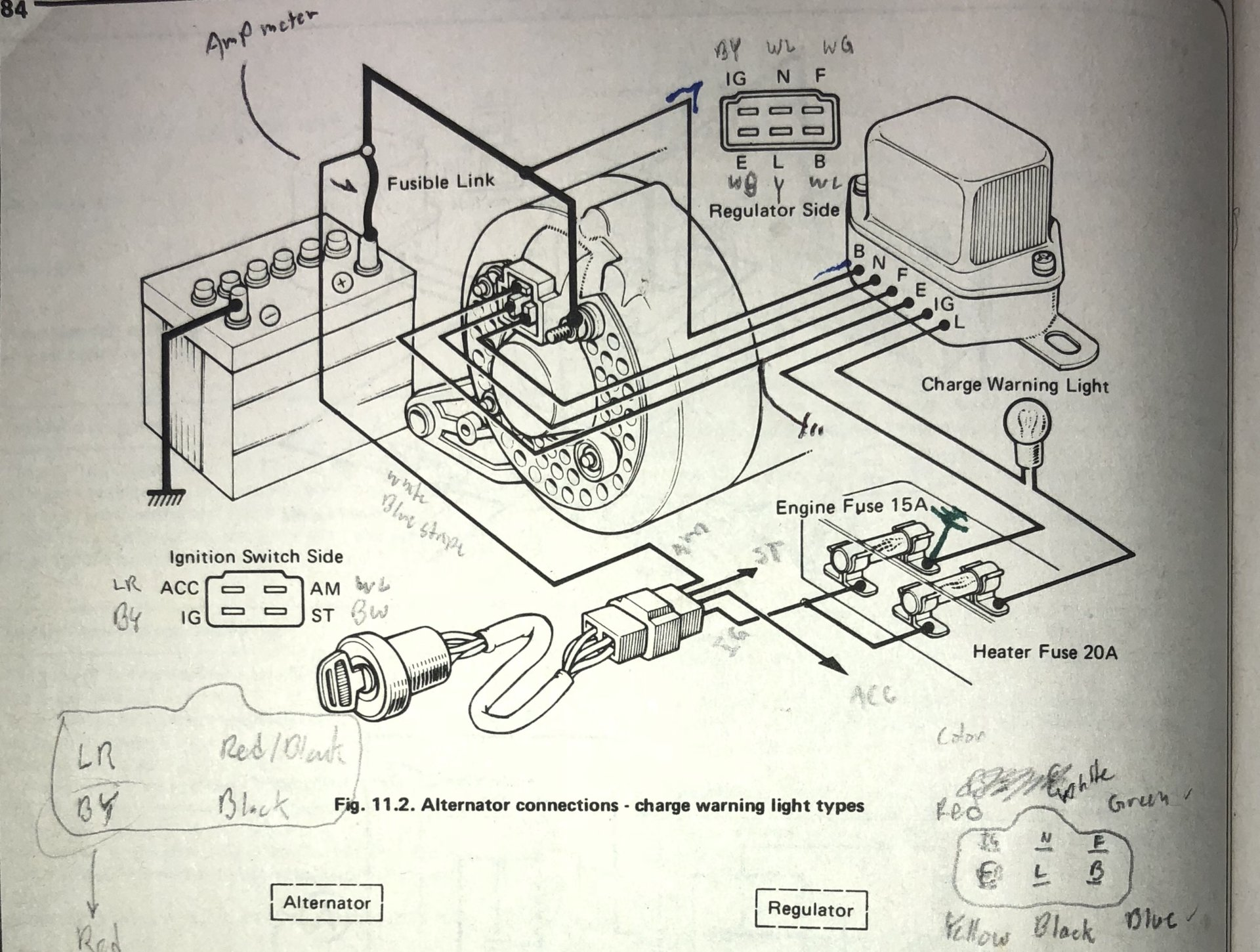 Alternator External Regulator Wiring Diagram