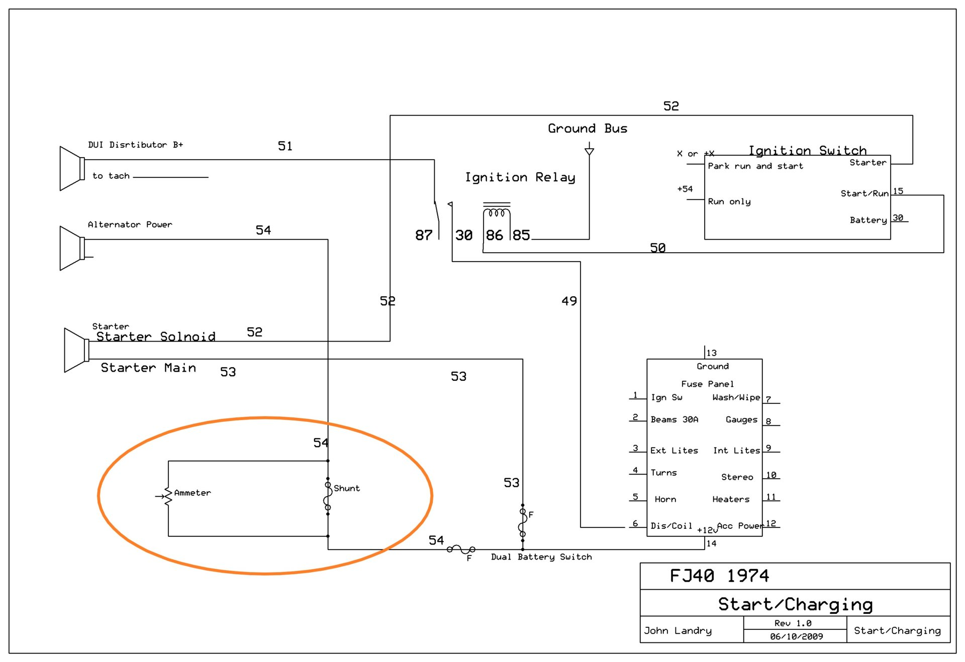 Adapting Gauge Cluster Ammeter For Higher Output