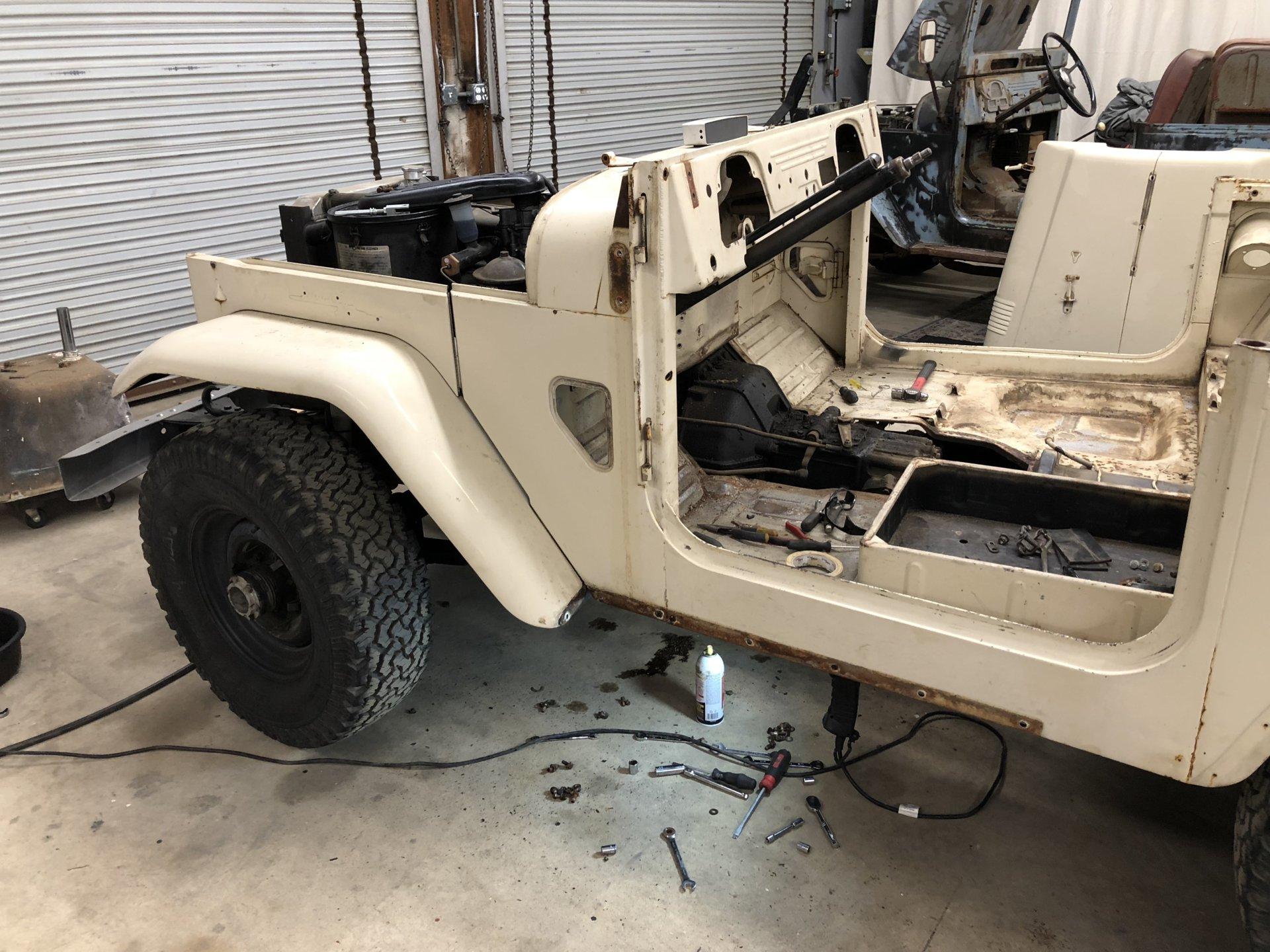 Builds - 1965 FJ40 FST Restoration Thread