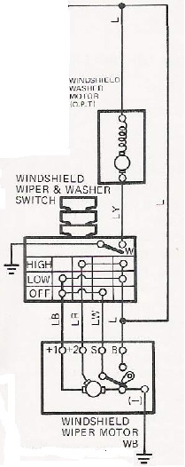 1987 s10 wiper motor wiring diagram oem wiper motor wiring diagram wiring gurus. wiper wiring | ih8mud forum