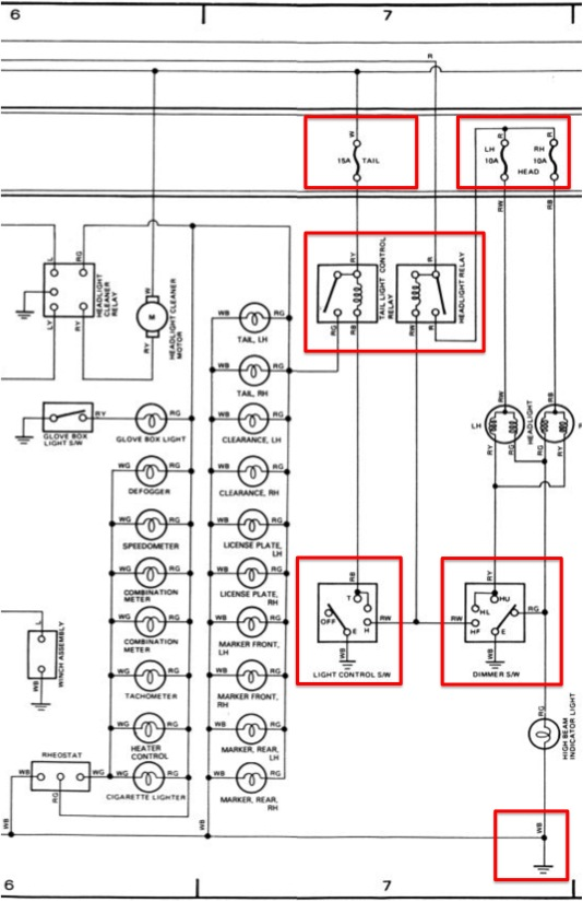 fj60 air conditioner wiring diagram fj60 wiring diagram fuse blows | ih8mud forum