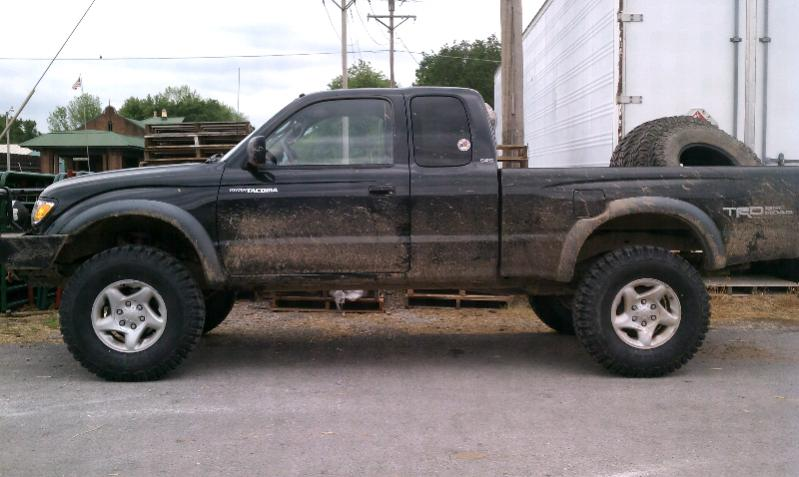 Can i fit 255 85 16 tires ih8mud forum