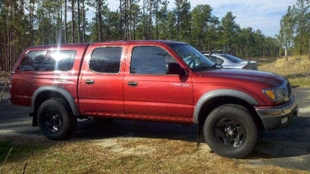 Trade 2002 Double Cab Prerunner 4x4 Tacoma For Fj 80