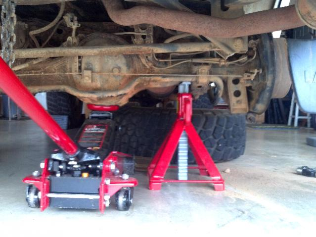 Toyota Richmond Va >> Jack stand placement and lifting/raising cruiser | IH8MUD ...