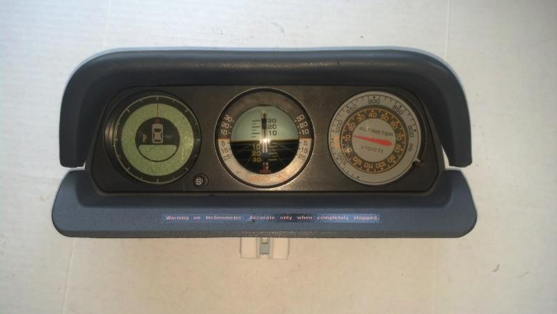 For Sale - digital compass, inclinometer, altimeter so-cal ...