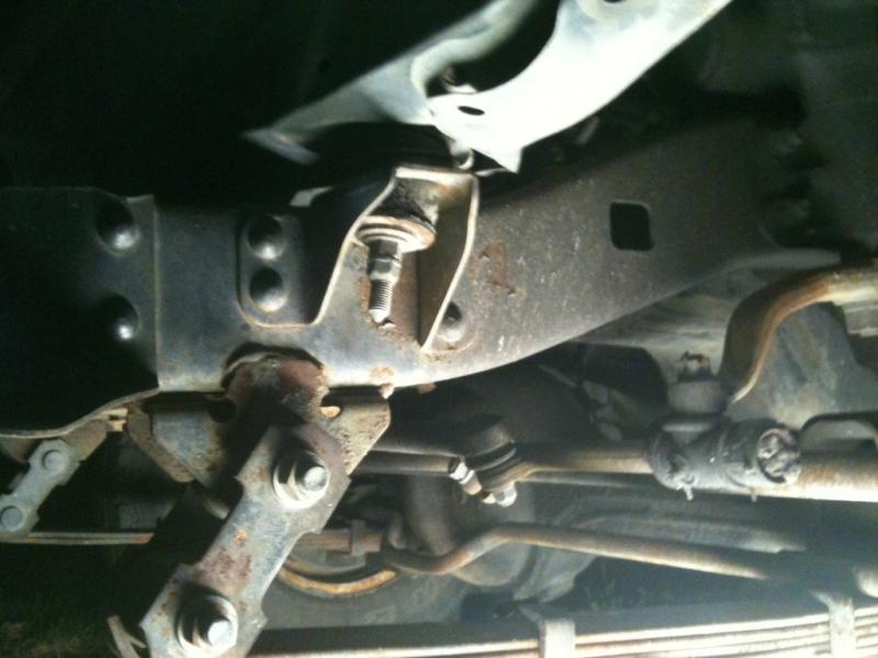 Advice on fixing bent frame rail. | IH8MUD Forum