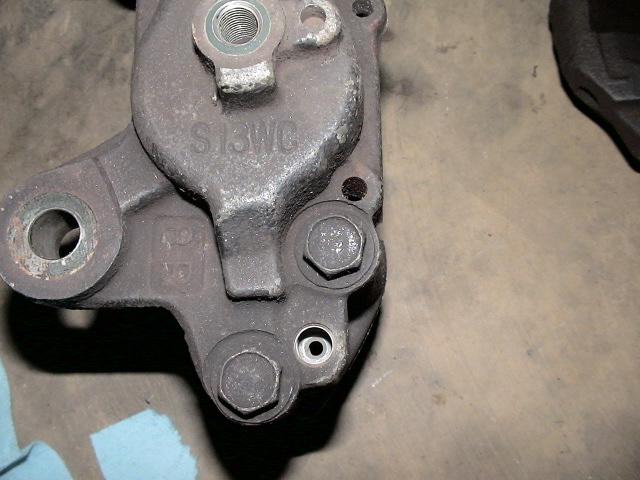 Front brake caliper casting number.JPG