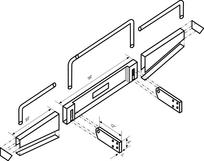 Off Road Bumper Plans >> Bumper/Roof Rack Blueprints? | IH8MUD Forum