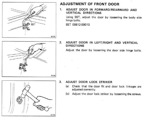 front door adjustment.JPG  sc 1 st  IH8MUD Forum & Adjusting door hinges | IH8MUD Forum