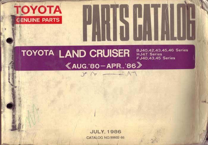 Toyota Albany Ny >> Land Cruiser Parts Catalog | IH8MUD Forum