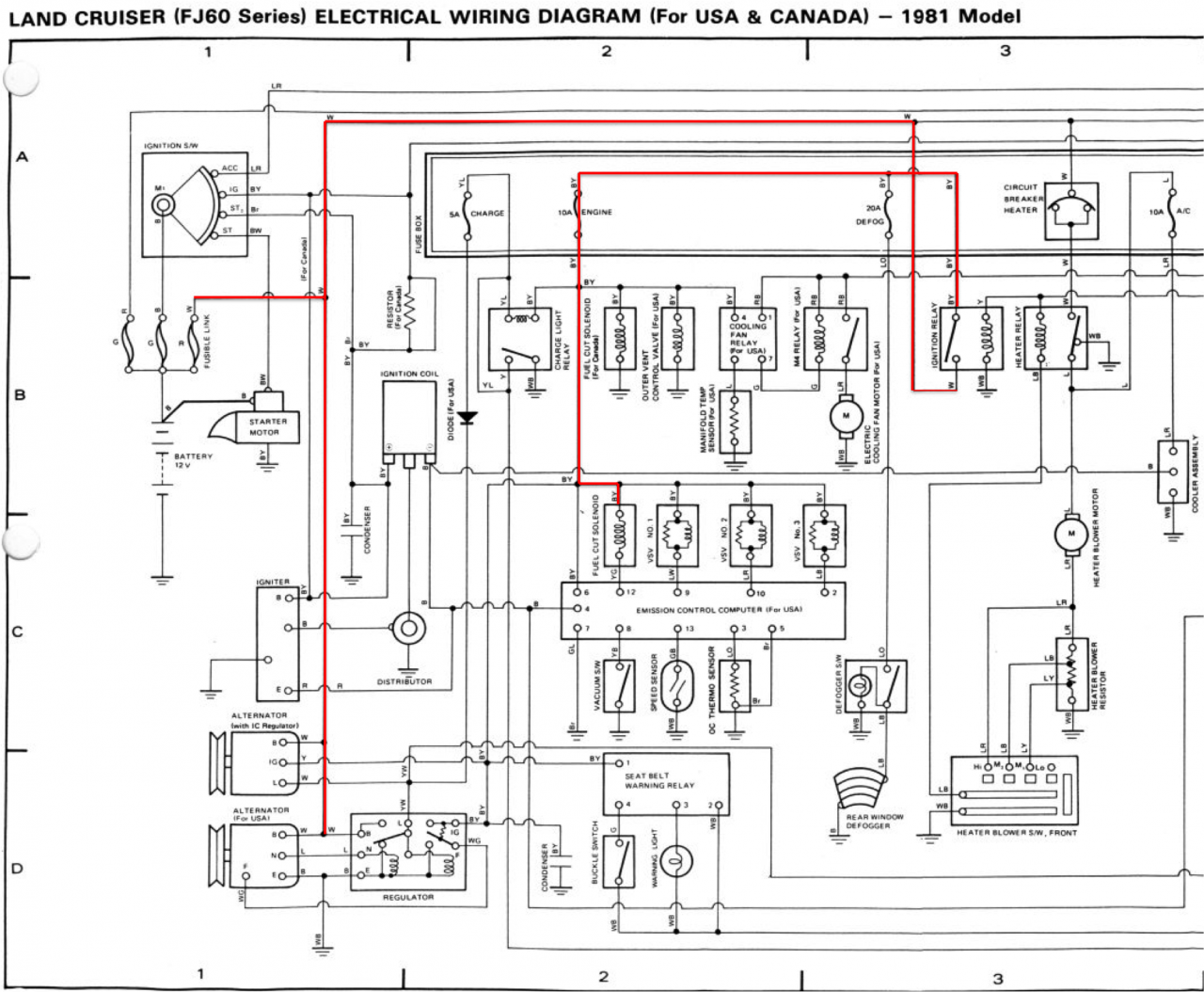 Fuel Control Solenoid  Emission Control Relay