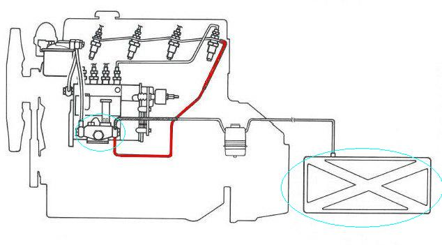 Question Toyota 3b Inline Fuel Pump Lots Of Pressure