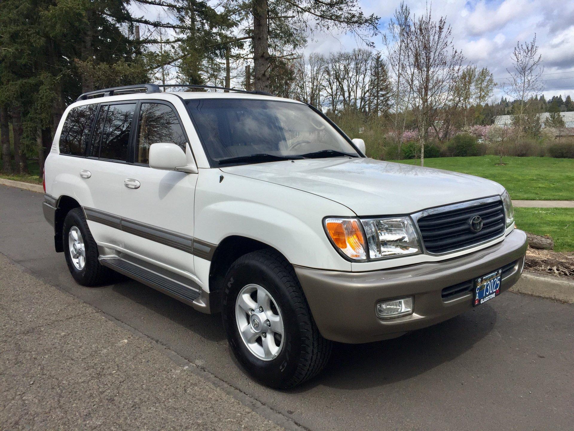 For Sale 2000 Land Cruiser Super Low Miles Portland