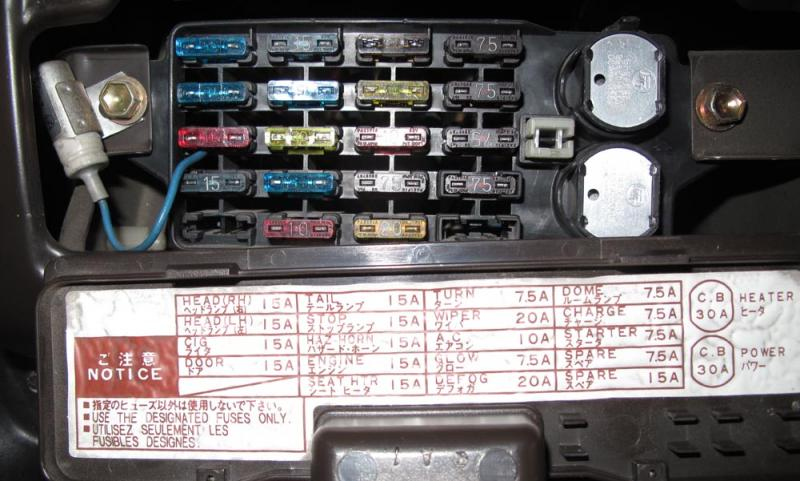 Help Needed With Fusebox Diagram