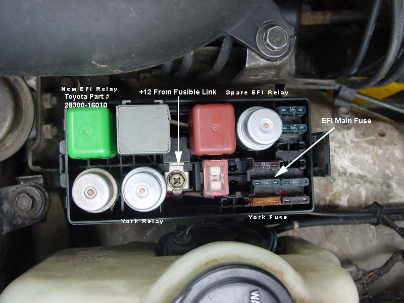 2007 corolla fuse box solved i was being dumb  rth 3fe no start ih8mud forum  solved i was being dumb  rth 3fe no start ih8mud forum