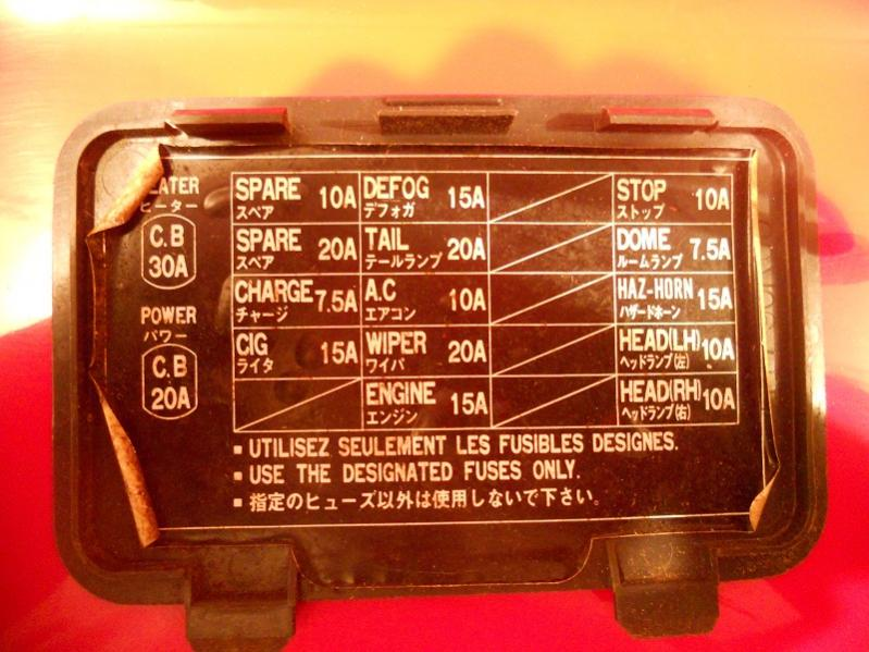 Fuse Panel Cover