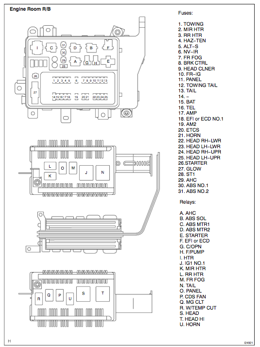 Fuses Relays Png on Headlight Relay Diagram