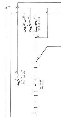 Fusible Link Wiring Diagram Electrical Wiring Diagram House