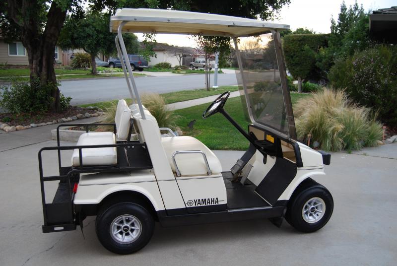 Yamaha Gas Powered Golf Carts For Sale