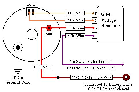 Gm Alternator Wire Diagram Wiring Diagrams Click