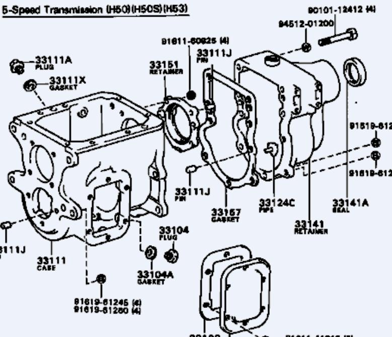 5 speeds in coaster busses: could h55s be hiding in plain ... ford f 250 5 4 transmission diagram