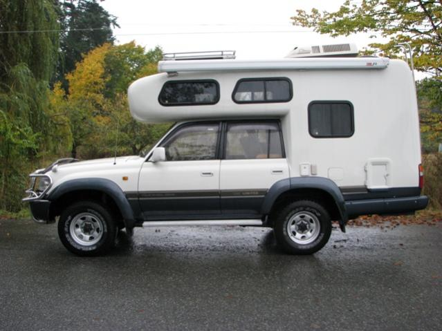 80 Series Rig Collides With Fiberglass Camper Shell Idea