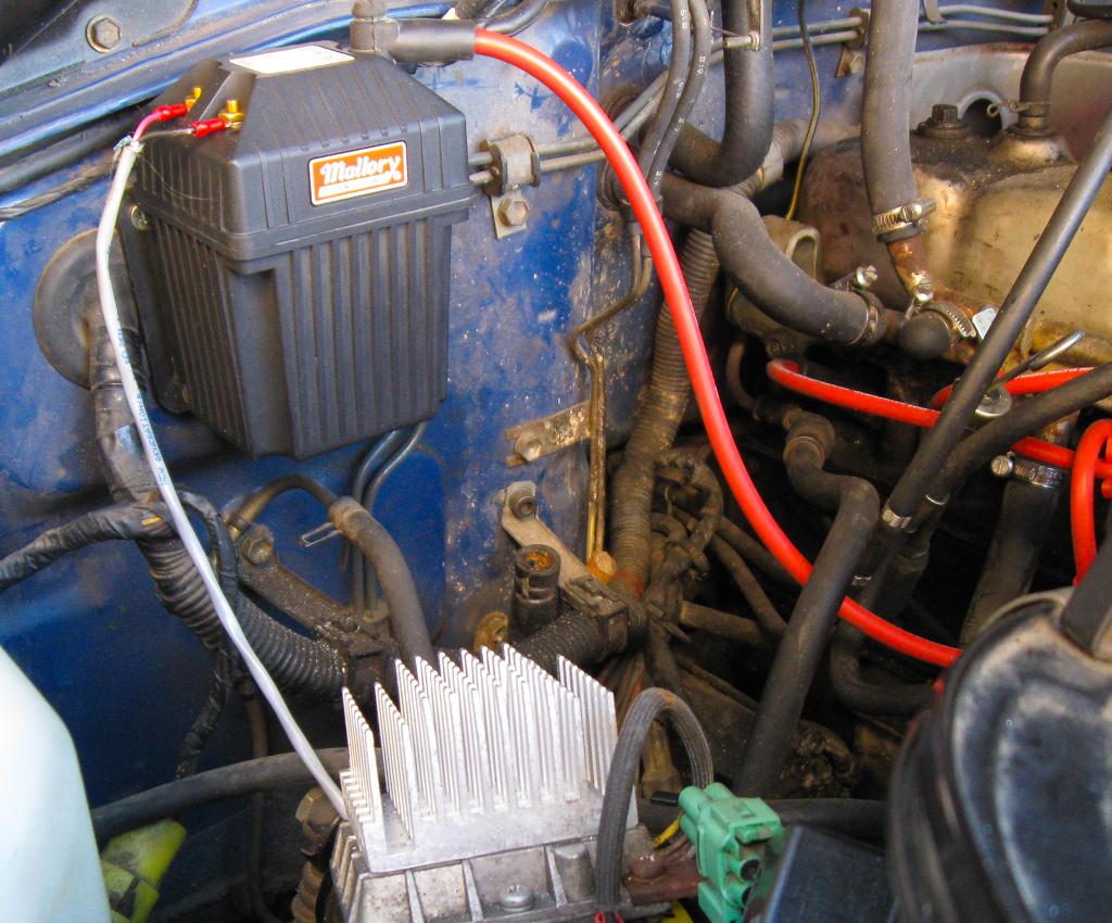 Igniter Repair For Cheapskates Ih8mud Forum 78 Gm Hei Module Heat Sink And Mallory 2