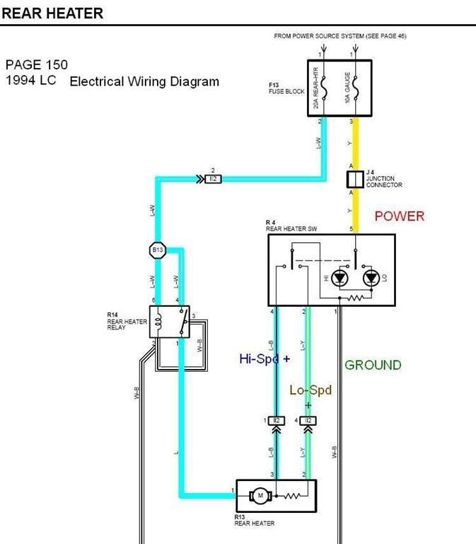 Can a OEM 80 Series Rear Window Defroster Switch be used to for – Lexus Rear Defroster Wiring-diagram