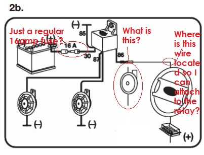 a Twin Supertone Horns | IH8MUD Forum  Wheeler Horn Wiring Diagram on