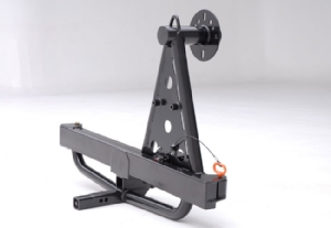Receiver Mounted Swing Away Tire Carrier