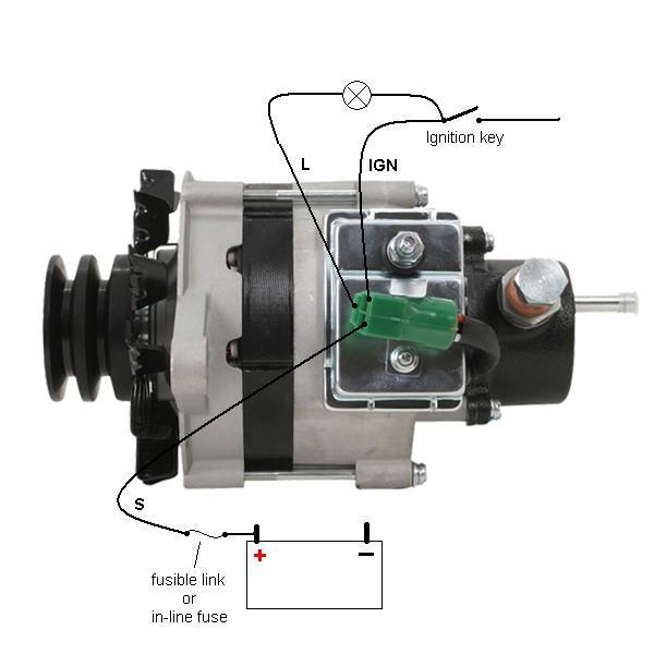 Charming isuzu alternator wiring diagram gallery wiring on isuzu industrial alternator wiring diagram Powermaster Alternator Wiring Diagram 1996 Isuzu Rodeo Alternator Diagram