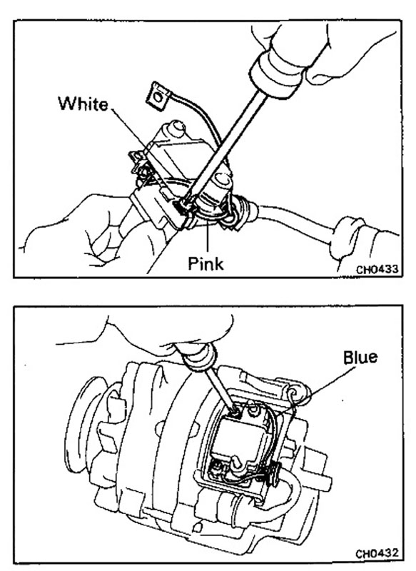 Alternator Wiring For 12ht on voltage regulator wiring diagram
