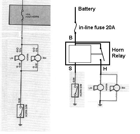 4 Pin Relay Wiring Diagram Horn together with Wiring Diagram Standards furthermore Wrangler Yj Wiring Diagram additionally Single Pole Double Throwspdtrelay furthermore Thyristor Schematic Relay. on bosch relay wiring diagram for horn