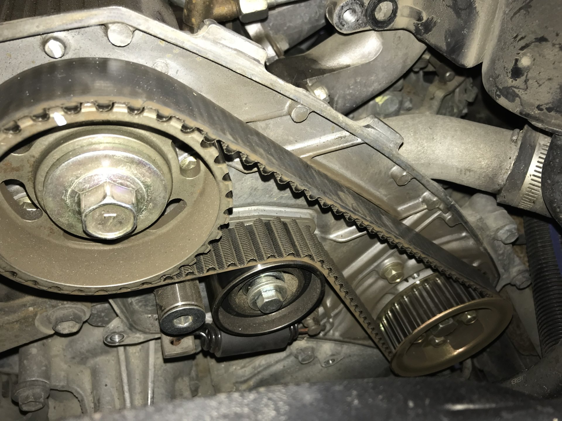 1hd T Engine Timing Diagram Wiring Third Level Chevy 1hdt Belt Change Ih8mud Forum Spark