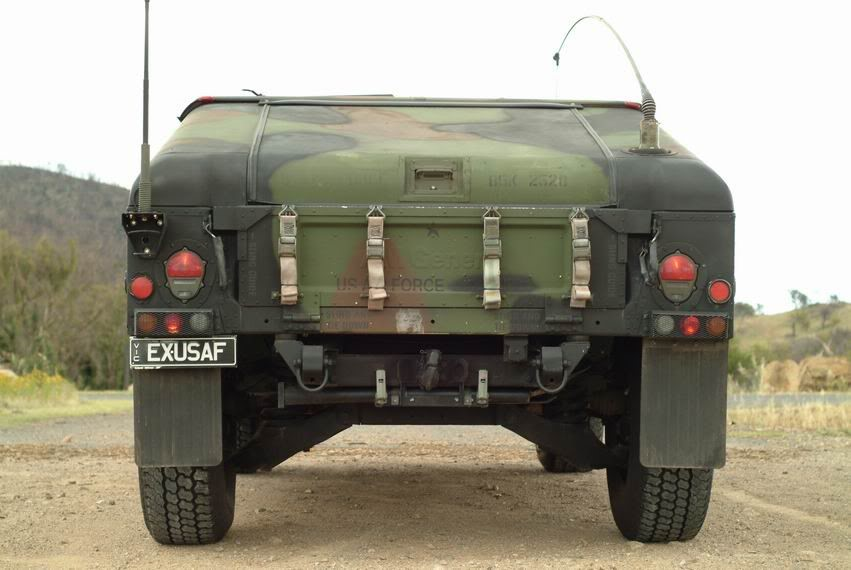 Military HUMVEE Bumpers on a Land Cruiser | IH8MUD Forum