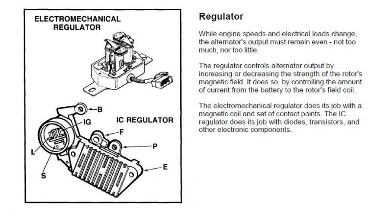 need help 3b alternator regulator page 2 ih8mud forum Single Wire Alternator Wiring Diagram