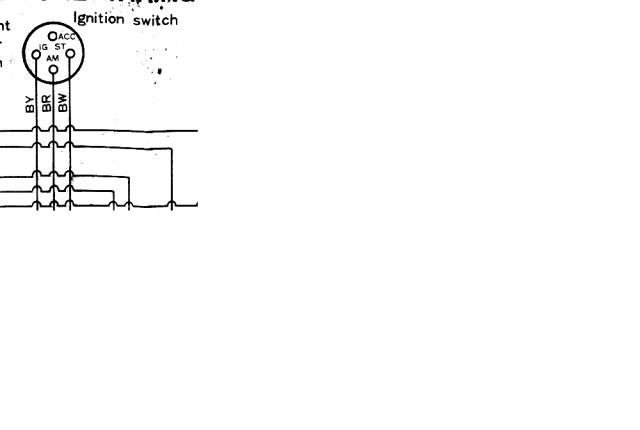 Ignition Switch Wiring Question Late Model Column In 71