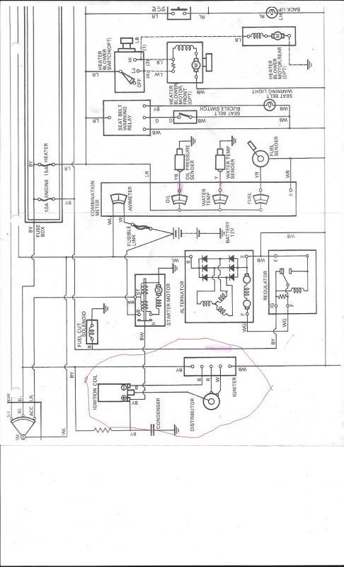 1978 fj40 distributor wiring