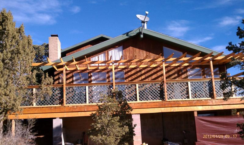 Deck Shade Structure That Turned Into A Grid Tie Solar Pv
