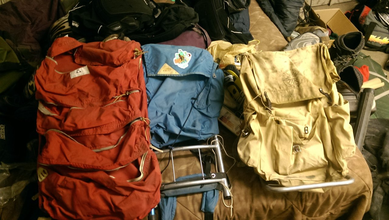 Through My Camping Gear Lining Things Up For The Possibility Of A Backpacking Trip And Realized That Bunch Stuff I Have Is Now Considered Vintage