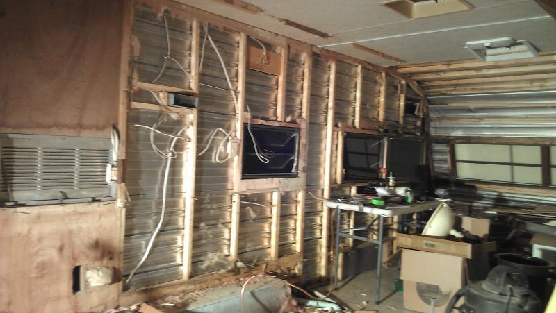 Closed Cell Spray Foam Insulation For Camper Remodel
