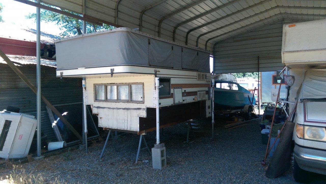 Campers For Sale In Ga >> For Sale - Older Four Wheel Camper Keystone $2000   IH8MUD Forum