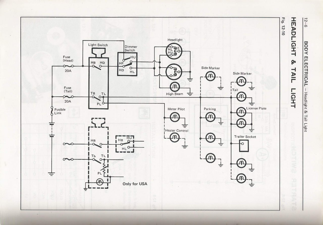 76 Fj40 Wiring Diagram 22 Images Diagrams Nova 1979 Headlight Switch Drama Ih8mud Forum At