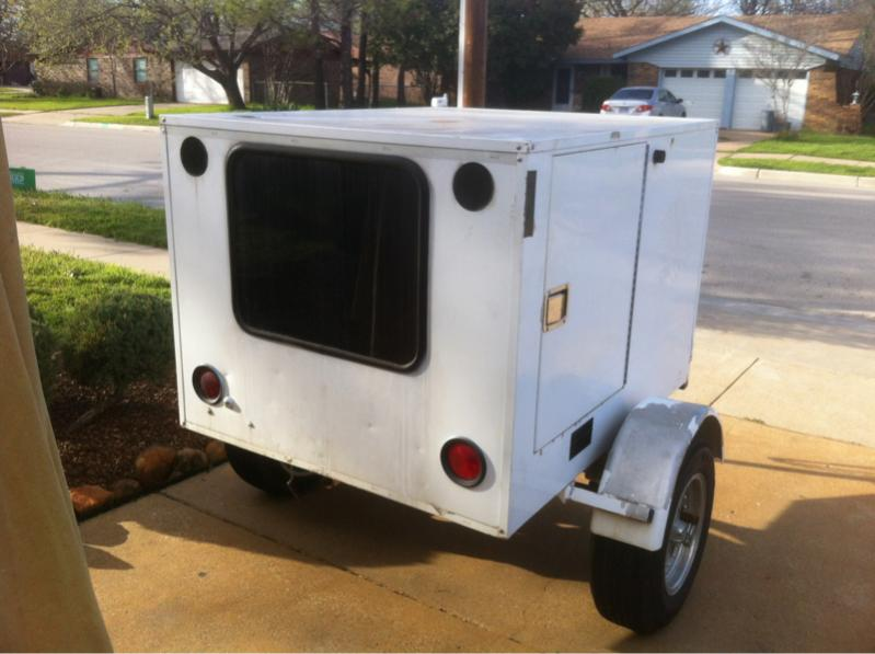 4x6 Enclosed Trailer >> For Sale 4x6 Enclosed Camping Trailer Dfw Tx Ih8mud