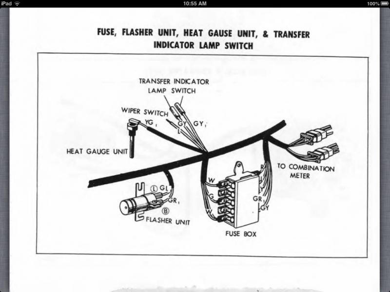 1969 Turn Signal Flasher Question