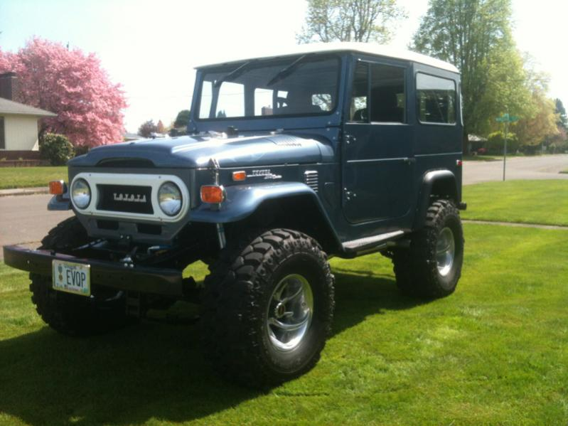 "Show me your FJ40 4""lift SUA with 35's 