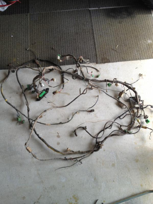 for sale 1976 fj40 wiring harness and extras ih8mud forum 1976 fj40 wiring harness at gsmx.co
