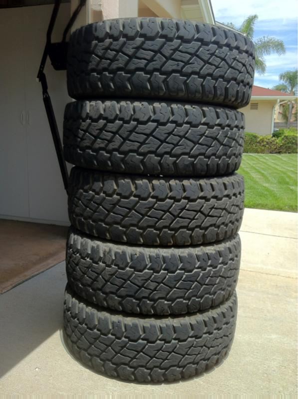 Toyota Tire Sale >> For Sale - 285/75R16 Cooper ST-Maxx tires -set of 5 | IH8MUD Forum